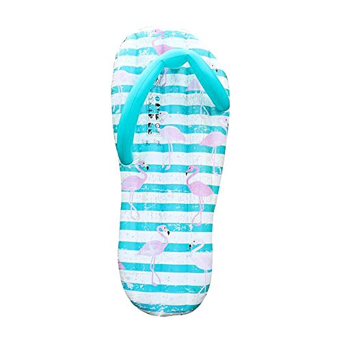Giant Inflatable Flip Flop Pool Float, Slippers Ride On Swimming Ring Water Toys