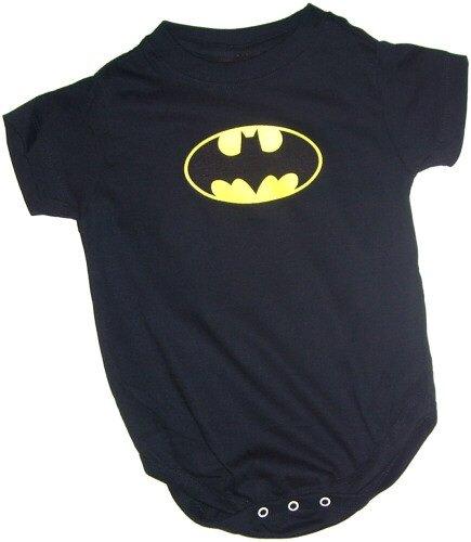 Batman Classic Shield Infant One-Piece Snapsuit, 6 (Bat Man Outfit)