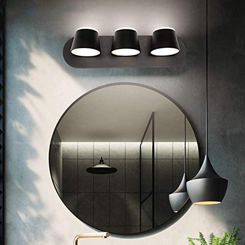 HIZLJJ 壁取り付け用燭台照明フィクスチャ産業のベッドルームベッドサイドウォールランプクリエイティブラッキー鹿ライト浴室バニティミラー照明器具