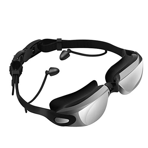 Price comparison product image Palarn Home & Kitchen Furniture Supplies,  Silicone Swimming Goggles Waterproof Anti-Fog Swimming Goggles with earplugs