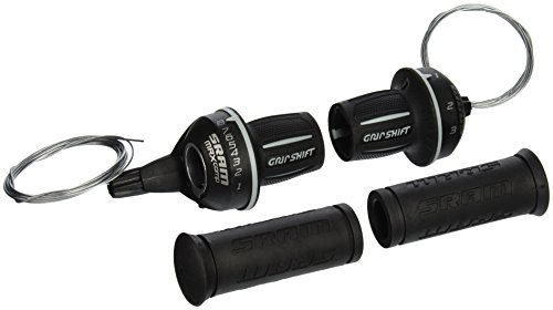 SRAM MRX Comp Bicycle Twist Shifter Set (8 Speed Twist Shifter)