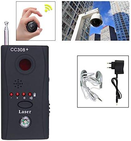 WIS Wanzenfinder Full Range CC308+Multi Wireless Signal Finder HF-Detector Wanzen Finder GSM GPS Detektor Funk Signal Laser Lens