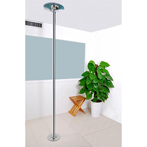 AMPERSAND SHOPS Removable / Portable Dance Fitness Exercise Pole Static / Spinning Option by AMPERSAND SHOPS (Image #2)