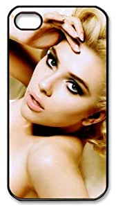 icasepersonalized Personalized Protective Case for iPhone 4/4S - Scarlett Johansson