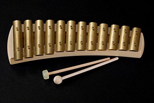 Auris 12 Note Diatonic Curved Body Glockenspiel by Auris