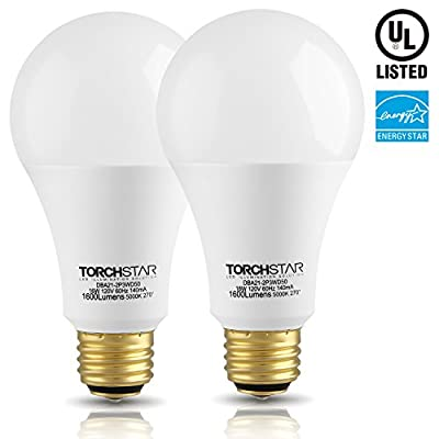 3-Way 40/60/100W Equivalent LED A21 Light Bulb, ENERGY STAR + UL-listed