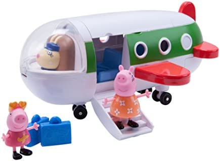 Amazon.com: Peppa Pig Holiday Plane: Toys & Games on airplane in-flight, airplane stopping, airplane sizing, airplane dimensions, airplane food, airplane design, airplane in the sky, airplane at airport, airplane type, airplane opening, airplane lifting, airplane door, airplane on ground, airplane marshalling, airplane drag, airplane water, airplane transportation, airplane size, airplane cabin, airplane parts diagram,