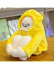 Kpop Fashion Cure Banana Man Knuffels Leuke Fruit Gift Verjaardagscadeau voor Kinderen 65 cm EEN