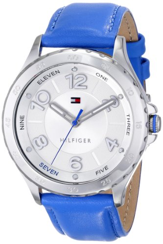 Tommy Hilfiger Women's 1781401 Analog Display Quartz Blue Watch