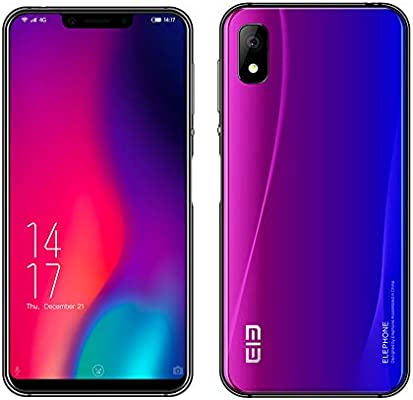 Móviles, Elephone A4 Pro 4G LTE Android 8.1 Smartphone,Dual Sim ...