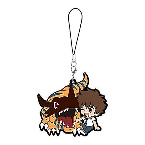 Digimon Adventure Tri: Taichi and Greymon Pvc Keychain (Digimon Miniatures)