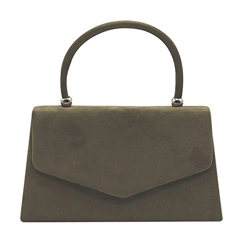 Handle Handbag Hot Various Lady Wiwsi Leather Purse Tote Bag Clutch Suede Party Color w1SZqxa