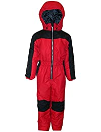 Little Boys and Toddler 1 Piece Snowsuit Coveralls