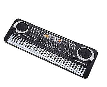 Teclado Piano para niños, 61 teclas de música Órgano electrónico ...