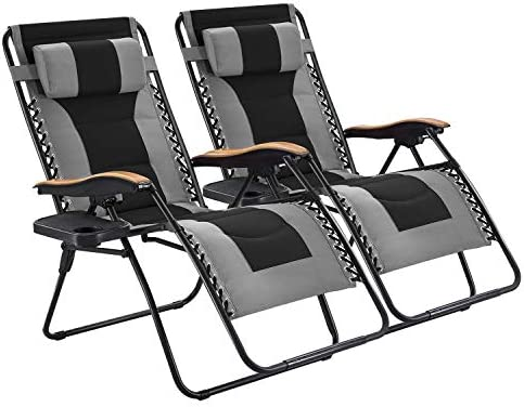 Deal of the week: Oversized Zero Gravity Chair 2 Pack