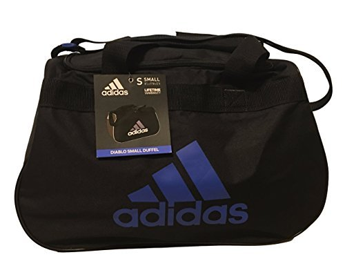adidas Diablo Duffel Small (Black/Blue) by adidas (Image #1)
