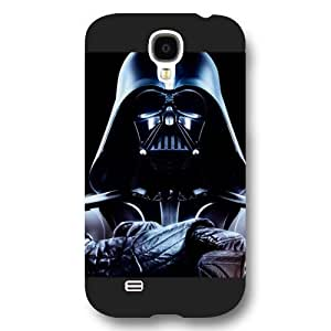 Onelee - Customized Personalized Black Frosted Samsung Galaxy S4 Case, Star Wars Samsung Galaxy S4 case, Star Wars Han Solo, Death Star, Darth Vader, Logo Samsung Galaxy S4 case, Only fit Samsung Galaxy S4 by ruishername