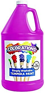 product image for Colorations Washable Tempera Paint, Gallon, Magenta, Non Toxic, Vibrant, Bold, Kids Paint, Craft, Hobby, Fun, Art Supplies
