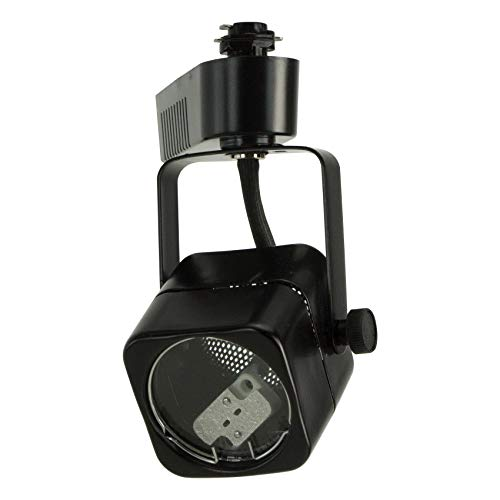 (Direct-Lighting 50012 Black MR16 Cube Low Voltage Track Lighting Head)