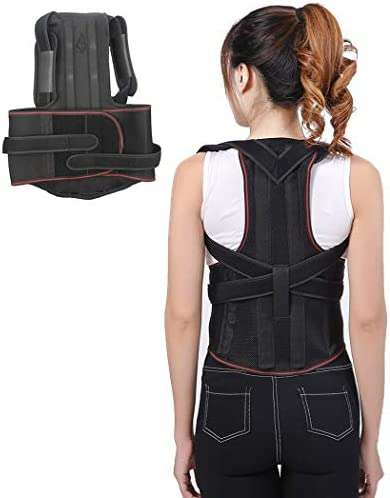 調節可能な背中姿勢矯正用ハングバック姿勢バックブレース姿勢ブレース鎖骨サポート男性と女性の姿勢改善に役立ちます(L) (Size : M)
