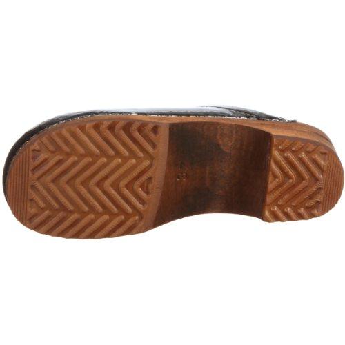 Classic Women's 2 Wood Black Sanita Casual Patent Black qfwgwAvR