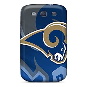 YhR2455wIsl Case Cover St. Louis Rams Galaxy S3 Protective Case