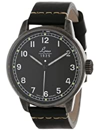 Laco / 1925 Men's 861783 Laco 1925 Used Look Classic Stainless Steel Watch with Black Leather Band