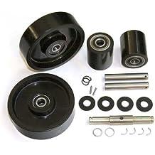 GPS Complete Wheel Kit for Manual Pallet Jack - Fits Mobile, Model # MLX55