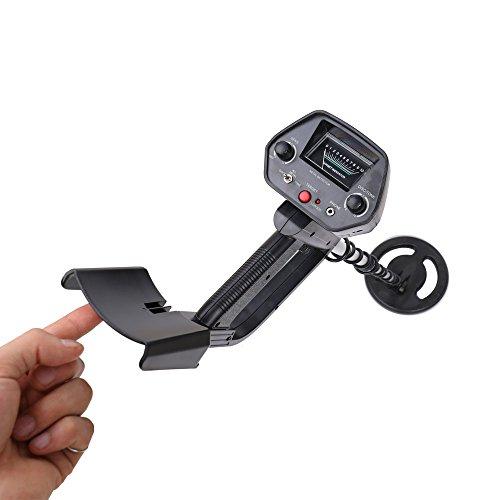 KKmoon - Detector de metales de alta sensibilidad, portátil, fácil instalación, color dorado: Amazon.es: Bricolaje y herramientas