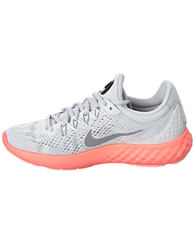 Nike 855810-004, Sneakers trail-running femme Pure Platinum/Stealth/Summit White
