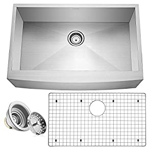 41DAO8FFW3L._SS300_ 75+ Beautiful Stainless Steel Farmhouse Sinks For 2020