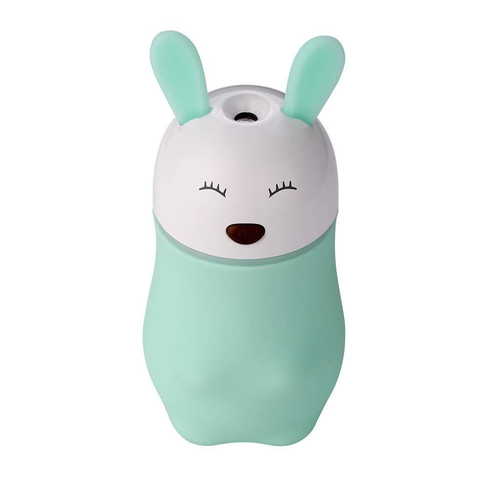 QVIE Cartoon Animal USB Mini Night Light Humidifier