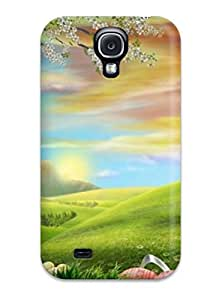 Crystle Marion's Shop New Style 2718152K19607113 Slim Fit Tpu Protector Shock Absorbent Bumper Case For Galaxy S4