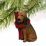 Bloodhound Miniature Dog Ornament