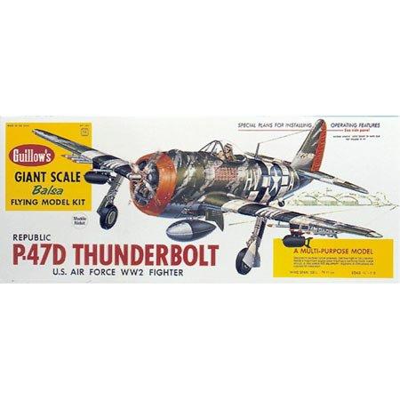 Guillow s P-47D Thunderbolt Model Kit