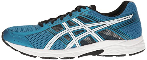ASICS Men's Gel-Contend 4 Running Shoe, Thunder Blue/White/Black, 6 M US by ASICS (Image #5)
