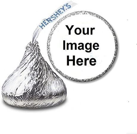 108 Personalized Roller Skate Birthday Hershey Kiss Stickers