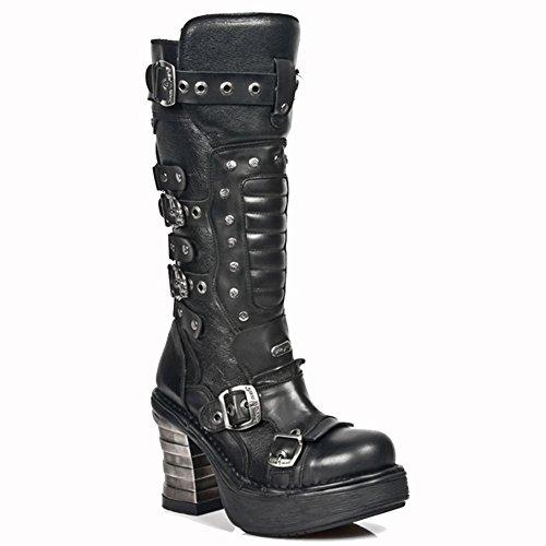 New Rock ,  Stivali donna Nero nero