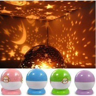 Star Projector Lamp Ornaments Children Star Projection