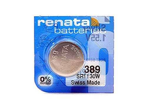 389 Watch battery - Strip of 5 Batteries ()