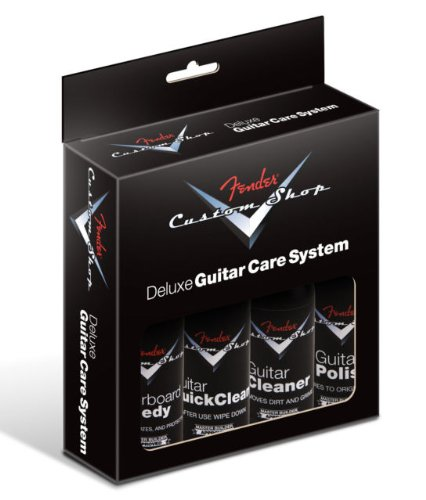 Fender Custom Shop Deluxe Guitar Care System - 4-Pack