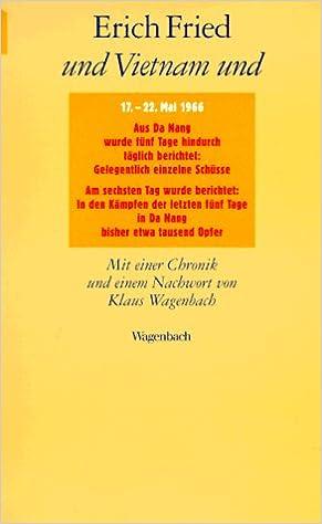 Und Vietnam Und Einundvierzig Gedichte German Edition