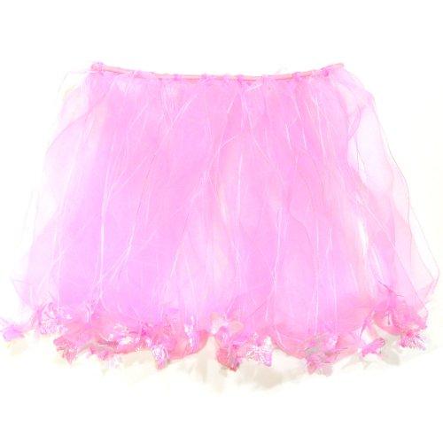 Wrapables Princess Fairy Tutu Dress-Up Skirt, Pink