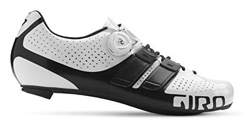 Giro Fatture Scarpe Da Bici Da Strada Techlace Bianco / Nero 2018
