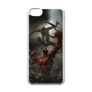 Pictures Of Spiderman iPhone 5c Cell Phone Case White xlb-233598