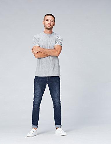 Jeans Mdt Uomo Cropped Find Blu Skinny EtqPwBwH