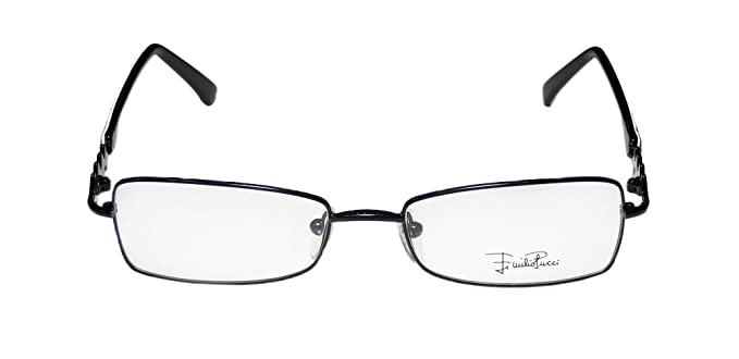 439ccccd5819 Amazon.com: Emilio Pucci 2102 For Ladies/Women Designer Full-Rim Shape  Brand Name Made In Italy Eyeglasses/Spectacles (53-17-130, Shiny  Black/Gray): Health ...