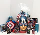 Marvel Avengers Assemble Get Well Kids Cancer Gift Basket Chemotherapy Patient Support Chemo Survivor Care Package Includes: AVENGERS BLANKET, PLUSH +MORE 13pc Bundle Gifts
