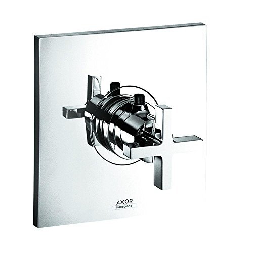 Axor Citterio Collection (Axor 39716001 Citterio Thermostatic Trim with Cross Handle in Chrome)