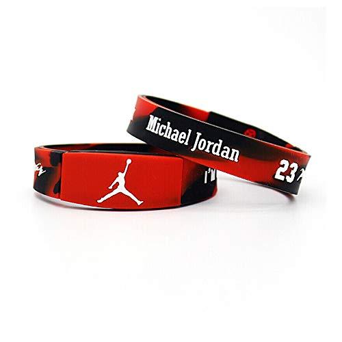 Basketball Sport Fans Silicone Wristbands Bracelet-Jordan - Wristband Jordan